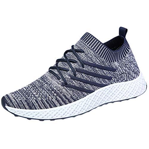 EUZeo Damen Herren Laufschuhe Sportschuhe Turnschuhe Trainers Running Fitness Atmungsaktiv Sneakers
