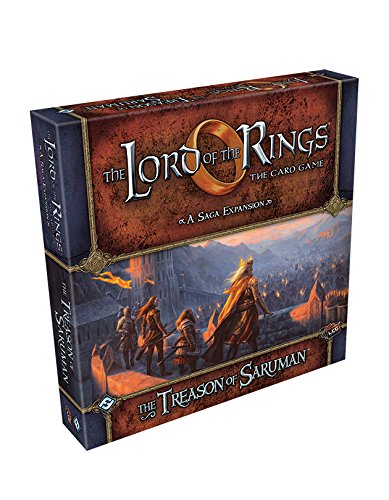 Lord of the Rings LCG: The Treason of Saruman - A Saga Expansion