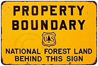 Best vintage forest service signs Reviews
