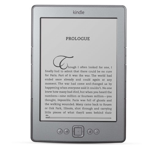 "Kindle, Wi-Fi, 6"" E Ink Display - for international shipment"