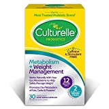 Culturelle Healthy Metabolism + Weight Management Supplement, Helps Safely Manage Weight, Stimulant Free, 30 Count