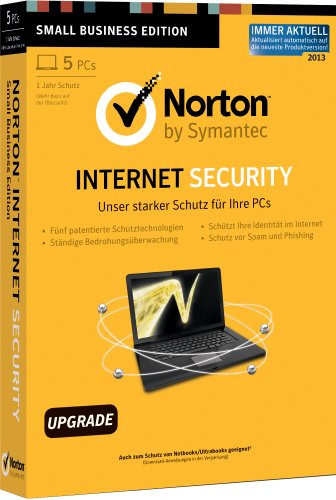 Norton Internet Security 2013 - 5PCs - Upgrade [import allemand]