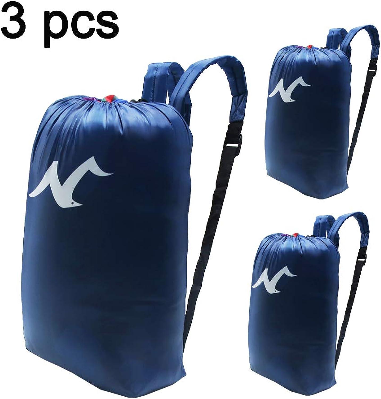 d149b749357d PASBAS 3 Pack Men & Women Sport Gym Sack Backpack Bag,Promotional ...