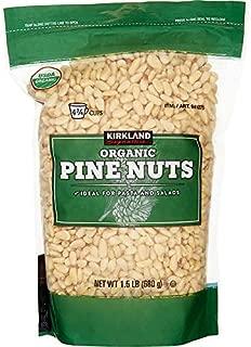 Kirkland Signature Organic Pine Nuts Resealable Bag - 1.5 lbs