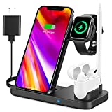 4 in 1 Wireless Charging Station for Apple Products,...
