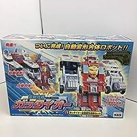 TAKARA電動作戦ガッタイオーガッタイオー自動変形合体セットビデオ付2001年 当時物 コレクター品