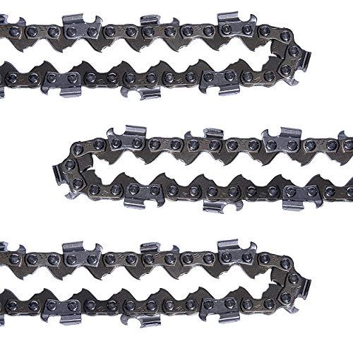 Mtanlo .325 Chainsaw Chain 16-Inch .058 Gauge 66DL for Husqvarna 55 435 440 445 450 340 345 350 351 353 346XP 545 Jonsered CS2245 2250 2152 2153 Saws 591101266