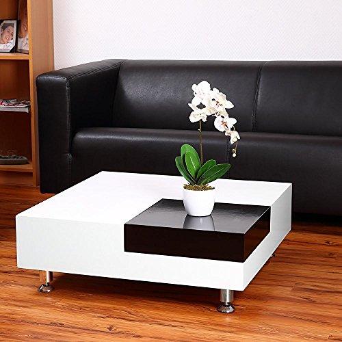 Directachat56 Table Basse modulable 80 x 80 cm, modèle Dame