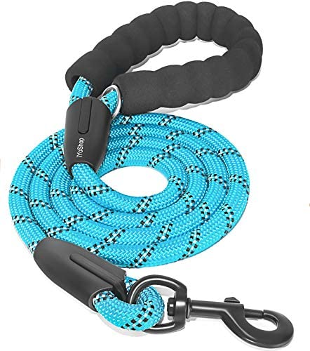 iYoShop 6 FT Strong Dog Leash with Comfortable Padded Handle and Highly Reflective Threads Dog product image