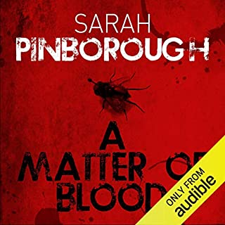 A Matter of Blood audiobook cover art