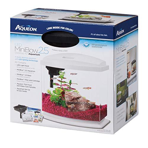 Aqueon MiniBow LED Kit, 2.5 Gallon, Black
