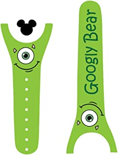 Vinyl Skin Decal Wrap Sticker Cover for the MagicBand Magic Band Monster Couple Boy Only