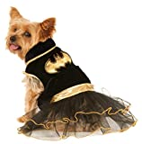 Rubie's 580323L Official DC Comics Batgirl Pet Dog Costume Tutu Dress, Large (Neck to Tail 22 Inch, Chest 20 Inch)