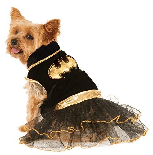 Rubie'S 580323S Disfraz Oficial de Batgirl para Perro, Vestido tutú, pequeño (Cuello a Cola 27,8 cm, Pecho 35,5 cm)