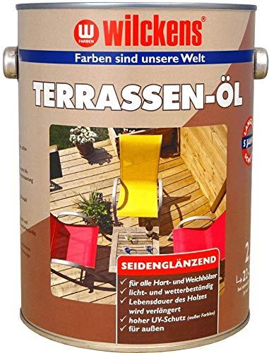 Wilckens Terrassenöl Lasur Terrassenholz Douglasie Bangkirai Teak, Farbe:Douglasie