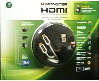 Monster 电缆 2 米 HDMI 线缆,带 90 度 HDMI 适配器 (MCRADPTHD7)