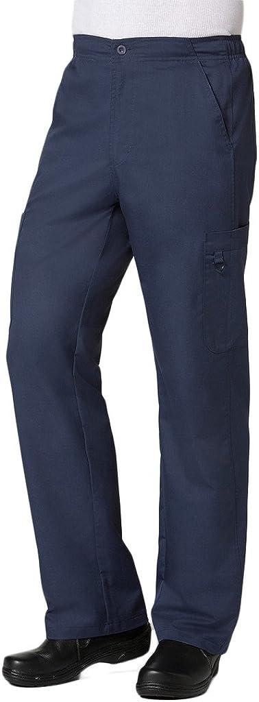 Maevn Men's EON Half Elastic 8-Pocket Cargo Pant(True Navy, Medium Tall)