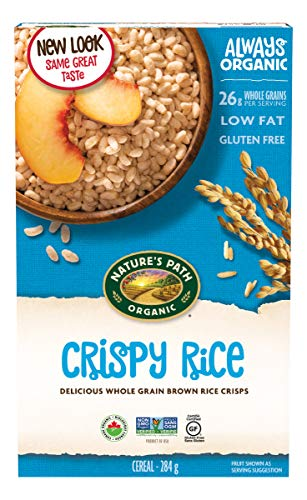 NATURES PATH Organic Rice Crispy Cereal, 10 OZ