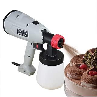 Cake Decorating Kit Cake Airbrush Kit Cake Sandblast Machine with Spray Nozzle & Spool 800ml(110V)