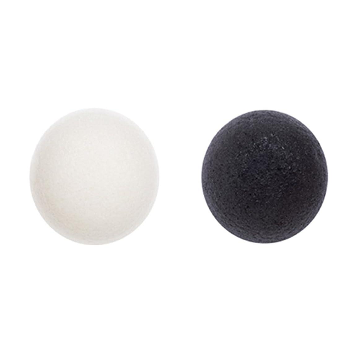 ミシャ 天然 こんにゃく クレンジング パフ(ホワイトクレイ)Natural Konjac Cleansing Puff (White Clay) [並行輸入品]