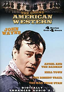 The Great American Western: (The Man from Utah / Hell Town / The Desert Trail / Angel and the Badman)