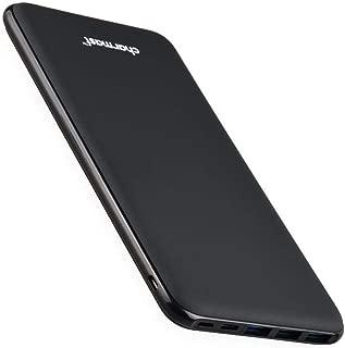 Charmast 26800mAh モバイルバッテリー 大容量 薄型 4出力ポート 3入力ポート 最大5V/3A出力 急速充電 iSmart出力 Type-C スマホ充電器【PSE認証済み】 MacBook Switch iPhone Android 機種対応(ブラック)