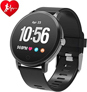 watch with heart rate