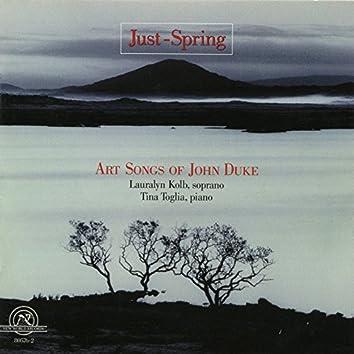 John Duke: Just-Spring