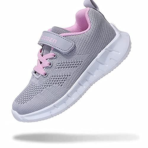Zapatillas Deportivas Niña Zapatillas de Deporte para Niña Running Fitness Correr Atletismo Caminar Andar Gimnasia Ligero...