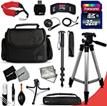 L610 L30 L24 L820 Camera Case Accessory Kit for Nikon Coolpix B500 L31 L22 Digital Cameras Includes 32GB High-Speed Memory Card L28 More L840 L26 L620 60 inch Tripod L830 L320 L32