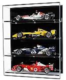 Widdowsons vitrinas de pared para cuatro modelos a escala 1:18 Fórmula 1,...