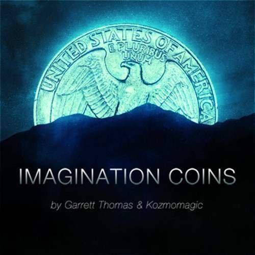 SOLOMAGIA Imagination Coins Euro (DVD and Gimmicks) by Garrett Thomas and Kozmomagic - DVD - original Item - Magie mit Tuch - Zaubertricks und Magie
