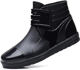 3f51d8c2041 YOOEEN Womens Rain Boots Short Rubber Boot Waterproof Work Garden Shoes  Anti-Slip Outdoor Ankle