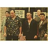 GhsyhSRf James Gandolfini Die Sopranos Vintage Poster Und
