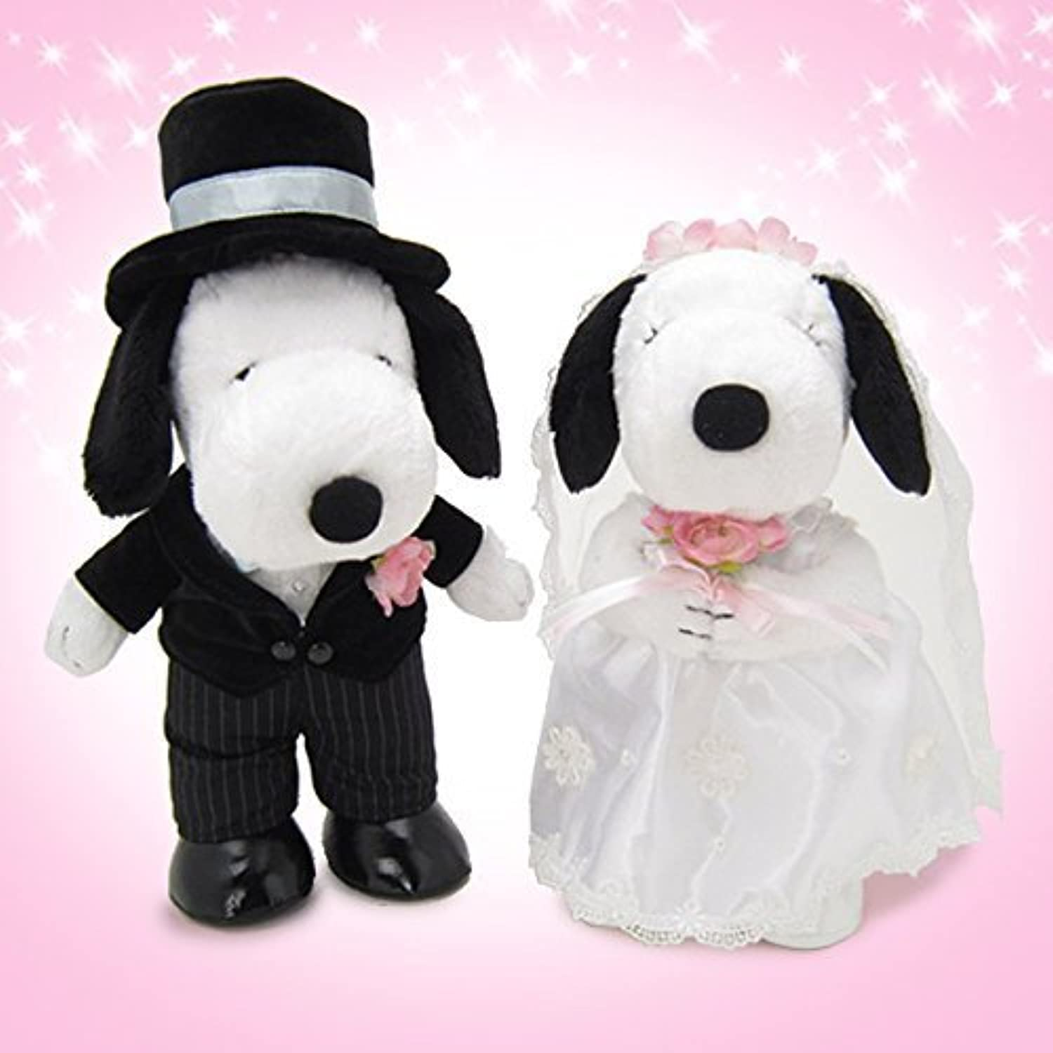 Snoopy character welcome doll Snoopy Wedding Western-style L by Yoshitoku