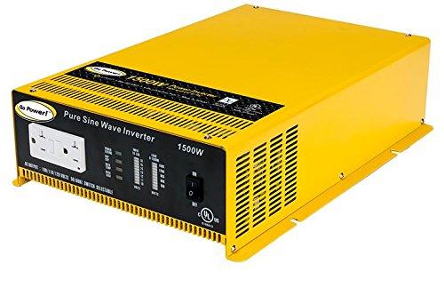 Go Power! GP-SW1500-12 1500-Watt Pure Sine Wave Inverter