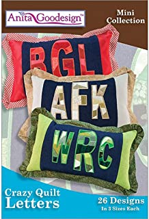 Anita Goodesign Embroidery Designs Crazy Quilt Letters
