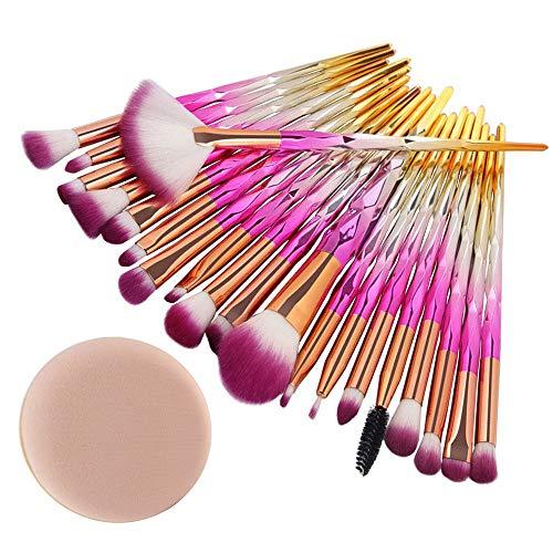 Pinceau de maquillage, mode Tonsee exquis 20 PCS Make Up Foundation sourcils Eyeliner Blush Cosmétique Correcteur Brosses