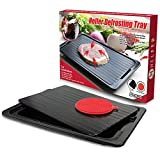 HelferX Defrosting Tray | Thawing Plate for fast defrosting of frozen foods |...
