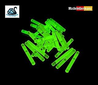 Lopbinte Led Stabspitze Nachtlicht Angriff Alarm Leuchtstab Bissanzeiger 2 X Stabadapter