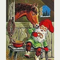 1000個の木製大人のパズル、減圧レジャーと環境保護のパズル、最高のホリデーギフト-馬の愛(50x75cm)