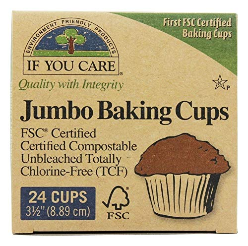 If You Care JUMBO Baking Cups (pack of 2)