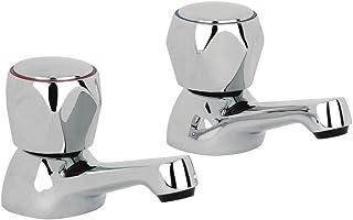 Alpha AL001 - Grifos para lavabo (cromado)