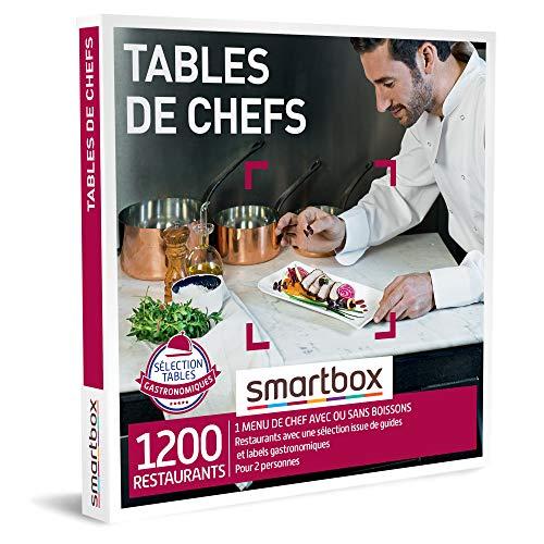 SMARTBOX - Coffret Cadeau Couple - Idée cadeau original - Expérience gourmande à deux : Dîner dans un restaurant gastronomique