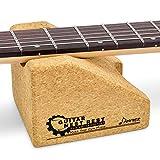 donner - cuscino per collo per chitarra, supporto per collo per strumenti a corda chitarra acustica elettrica basso e mandolino, cambio corde