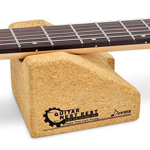 Donner Soporte para el Cuello de la Guitarra, Guitarra Cuello Resto Cuello Almohada Cuerda Instrumento Cuello Soporte, Herramienta de Reparación de Instrumentos Musicales