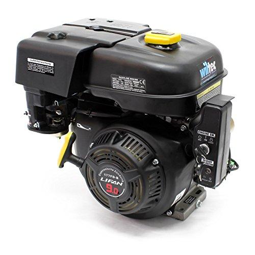 LIFAN 177 Benzinmotor 6,6 kW 9 PS 270 ccm mit Ölbadkupplung und Reduktionsgetriebe 2:1 E-Start