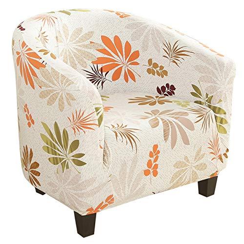 NIBESSER Sesselschoner Sesselüberwurf Sesselhusse Sesselbezug Jacquard Elastisch Stretch Husse für Cafe Stuhl Sessel