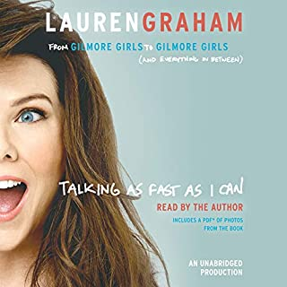 Talking as Fast as I Can     From Gilmore Girls to Gilmore Girls (and Everything in Between)              Auteur(s):                                                                                                                                 Lauren Graham                               Narrateur(s):                                                                                                                                 Lauren Graham                      Durée: 4 h et 35 min     143 évaluations     Au global 4,7