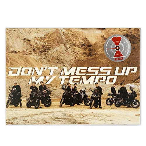 EXO 5th Album - Don't Mess Up My Tempo [ MODERATO ver. ] CD + Booklet + Photocard + FREE GIFT / K-pop Sealed